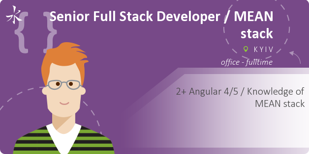 Senior Full Stack Developer / MEAN stack