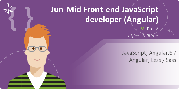 Jun-Mid Front-end JavaScript developer (Angular)