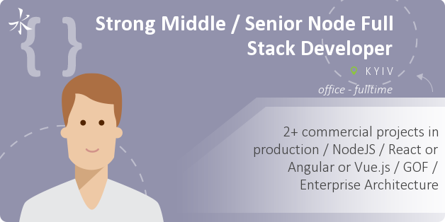 Strong Middle NodeJS Back-End Software Engineer