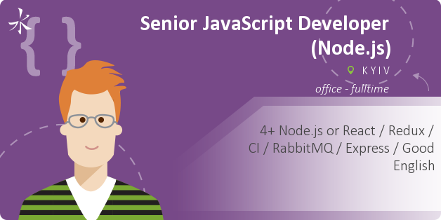 Senior JavaScript Developer (Node.js)