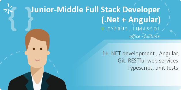 Middle Full Stack Developer (.Net + Angular)
