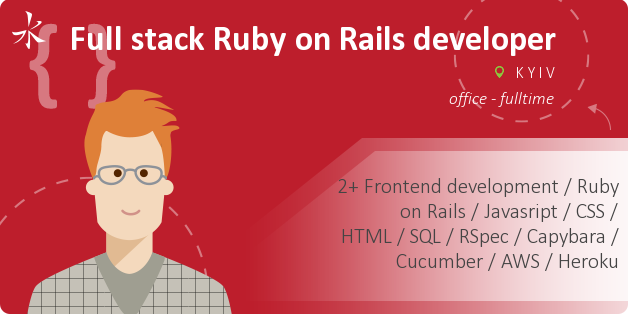 Full stack Ruby on Rails developer