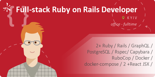 Full-stack Ruby on Rails Developer