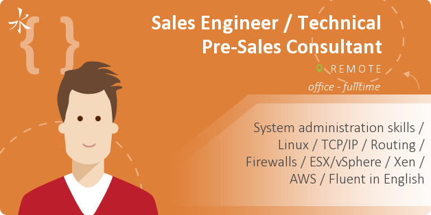 Sales Engineer / Technical Pre-Sales Consultant