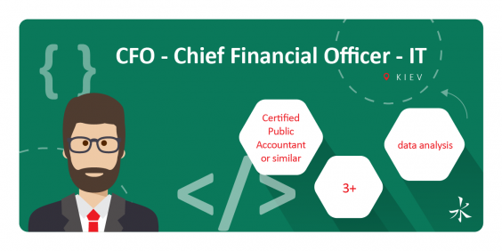 CFO - Chief Financial Officer - IT
