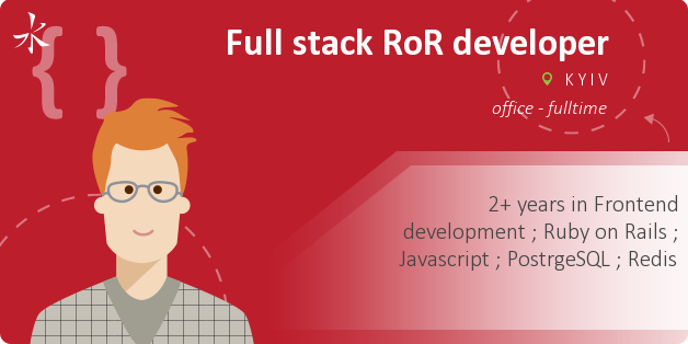 Full stack RoR developer