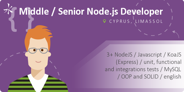 Middle / Senior Node.js Developer