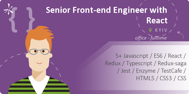 Senior Front-end Engineer with React