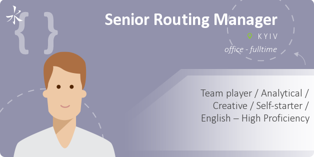 Senior Routing Manager