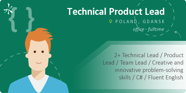 Technical Product Lead